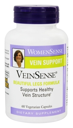 Natural Factors - WomenSense VeinSense Beautiful Legs Formula - 60 Vegetarian Capsules