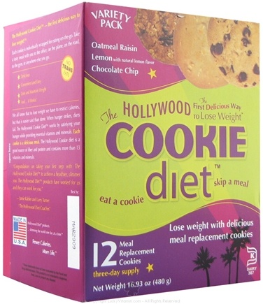 DROPPED: Hollywood Diet - Hollywood Cookie Diet Assorted Flavors