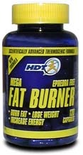 DROPPED: Human Development Technologies - Mega Fat Burner - 120 Capsules