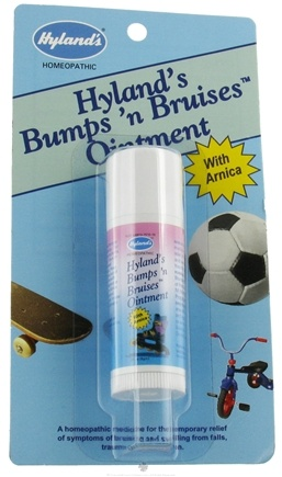 DROPPED: Hylands - Bumps 'N Bruises With Arnica Ointment - 0.26 oz. CLEARANCED PRICED