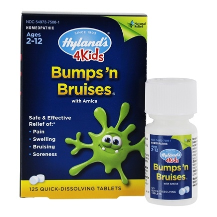 DROPPED: Hylands - Bumps 'N Bruises With Arnica - 125 Tablets CLEARANCED PRICED