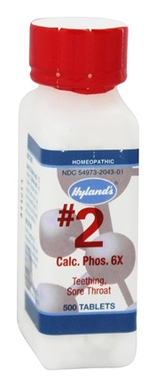 Hylands - Cell Salts #2 Calcarea Phosporica 6 X - 500 Tablets