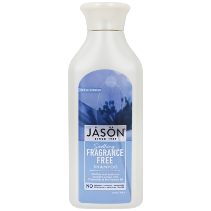 JASON Natural Products - Daily Shampoo - Fragrance Free - 16 oz.