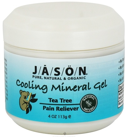 DROPPED: Jason Natural Products - Tea Tree Icy Mineral Gel - 4 oz. CLEARANCE PRICED