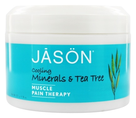 Jason Natural Products - Tea Tree Mineral Gel Cooling Pain Relief - 8 oz.