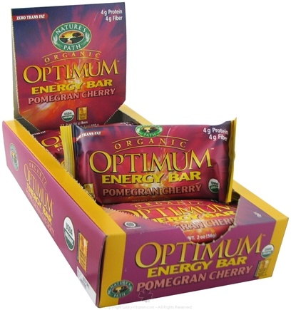 DROPPED: Nature's Path Organic - Optimum Energy Bar Pomegran Cherry - 2 oz.