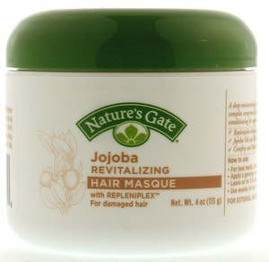 DROPPED: Nature's Gate - Jojoba Revitalizing Hair Masque with Repleniplex for Damaged Hair - 4 oz.