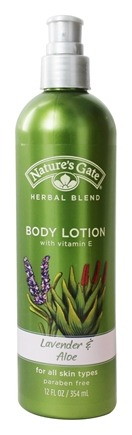 Nature's Gate - Body Lotion Organics with Vitamin E Lavender & Aloe - 12 oz.