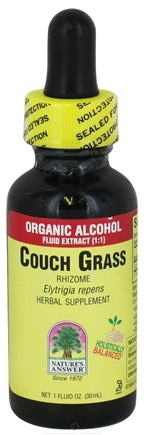 DROPPED: Nature's Answer - Couchgrass Rhizome Organic Alcohol - 1 oz.