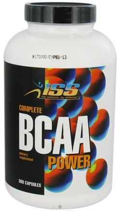 DROPPED: ISS Research - Complete BCAA Power - 300 Capsules CLEARANCE PRICED