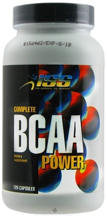 DROPPED: ISS Research - Complete BCAA Power - 120 Capsules CLEARANCE PRICED