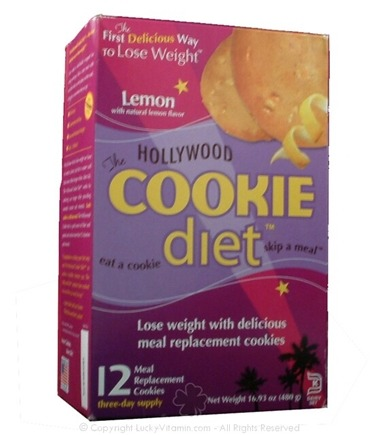 DROPPED: Hollywood Diet - Hollywood Cookie Diet Lemon Flavor