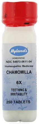 DROPPED: Hylands - Chamomilla 6 X - 250 Tablets