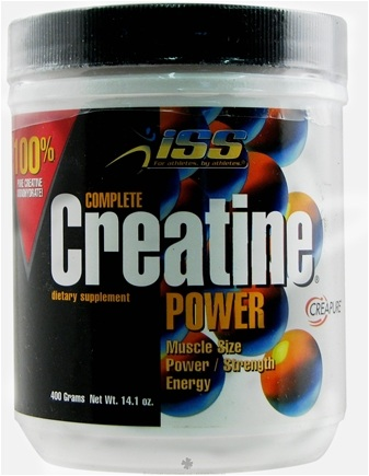 DROPPED: ISS Research - Complete Creatine Power 400 g. - 14.1 oz. CLEARANCE PRICED