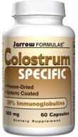 DROPPED: Jarrow Formulas - Colostrum Specific 500 mg. - 60 Capsules