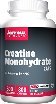DROPPED: Jarrow Formulas - Creatine Caps 800 mg. - 300 Capsules