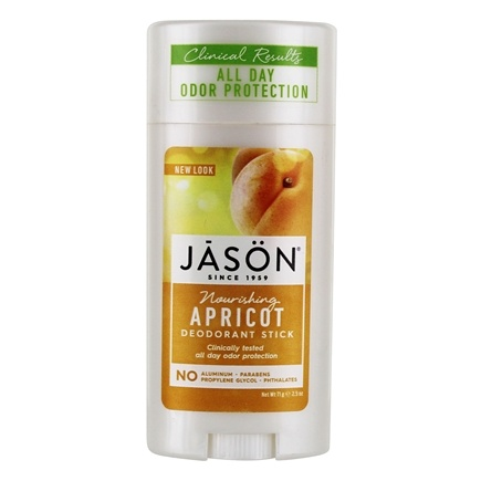 Jason Natural Products - Deodorant Stick Apricot - 2.5 oz.