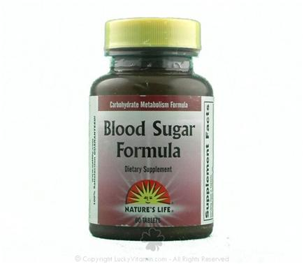 DROPPED: Nature's Life - Blood Sugar Formula