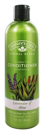 Nature's Gate - Conditioner Organics Herbal Blend Nourishing Lavender & Aloe - 12 oz.