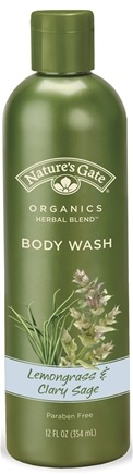 DROPPED: Nature's Gate - Body Wash Lemongrass & Clary Sage CLEARANCE PRICED - 12 oz.