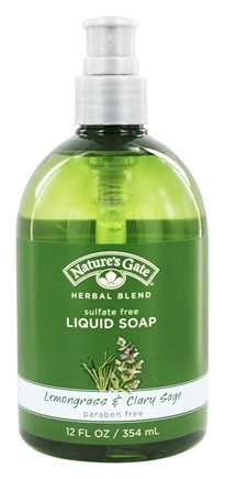 Nature's Gate - Liquid Soap Organics Herbal Blend Lemongrass & Clary Sage - 12 oz.