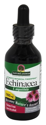 DROPPED: Nature's Answer - Echinacea Organic Alcohol - 2 oz.