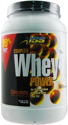 DROPPED: ISS Research - Complete Whey Power Chocolate - 2.2 lbs.