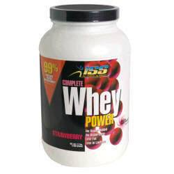 DROPPED: ISS Research - Complete Whey Power Strawberry - 2.5 lbs.