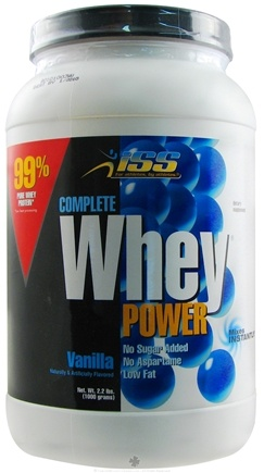 DROPPED: ISS Research - Complete Whey Power Vanilla - 2.2 lbs.