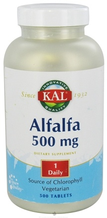DROPPED: Kal - Alfalfa 500 mg. - 500 Tablets CLEARANCE PRICED