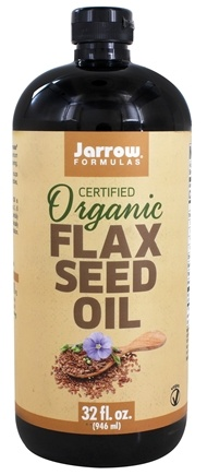 Jarrow Formulas - Flax Seed Oil Fresh Pressed Organic - 32 oz.