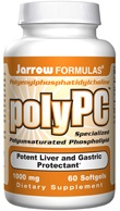 DROPPED: Jarrow Formulas - PolyPC Potent Liver and Gastric Protectant - 60 Softgels
