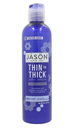 Jason Natural Products - Thin To Thick Hair Thickening Conditioner - 8 oz.