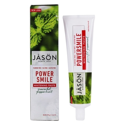 Jason Natural Products - Toothpaste Power Smile - 6 oz.