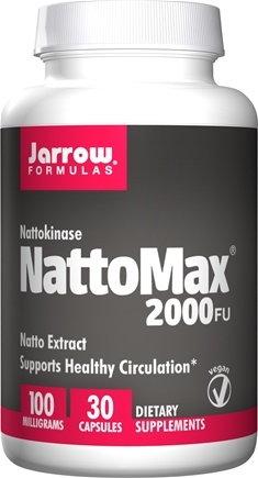 DROPPED: Jarrow Formulas - NattoMax 100 mg. - 30 Vegetarian Capsules CLEARANCE PRICED