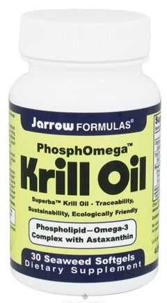 DROPPED: Jarrow Formulas - PhosphOmega Krill Oil - 30 Softgels CLEARANCE PRICED