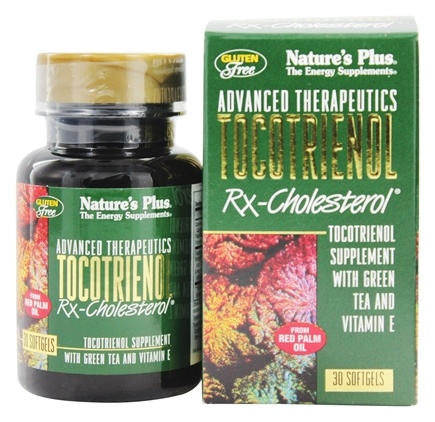DROPPED: Nature's Plus - Advanced Therapeutics Tocotrienol Rx-Cholesterol - 30 Softgels