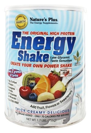 Nature's Plus - Energy Shake - 1.7 lbs.