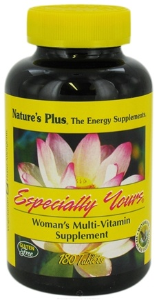 DROPPED: Nature's Plus - Especially Yours Women's Multiple - 180 Tablets