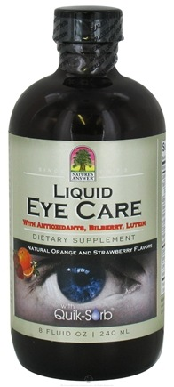DROPPED: Nature's Answer - Liquid Eye Care - 8 oz. CLEARANCE PRICED