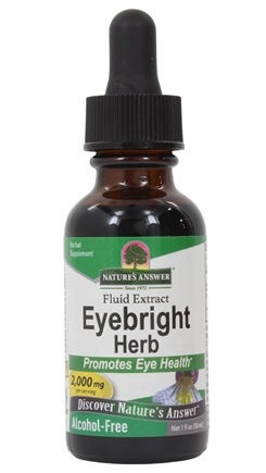 Nature's Answer - Eyebright Herb Alcohol Free - 1 oz.