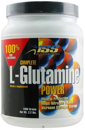 DROPPED: ISS Research - Complete L-Glutamine Power 1000 gram - 2.2 lbs.
