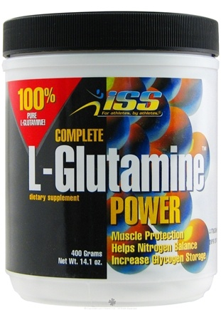 DROPPED: ISS Research - Complete L-Glutamine Power 400 g - 14.1 oz.