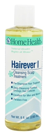 Home Health - Hairever I Cleansing Scalp Treatment - 8 oz.