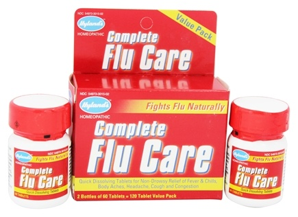DROPPED: Hylands - Complete Flu Care - 120 Tablets
