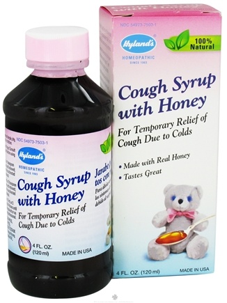 DROPPED: Hylands - Cough Syrup With Honey - 4 oz.