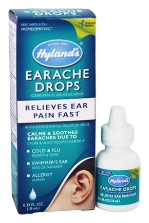 Hylands - Earache Drops Adult/Child - 0.33 oz.