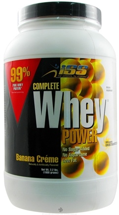 DROPPED: ISS Research - Complete Whey Power Banana Creme - 2.2 lbs.