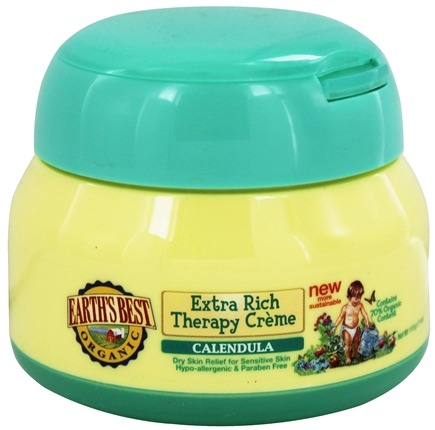DROPPED: Earth's Best - Organic Baby Extra Rich Therapy Creme Calendula by Jason Natural Products - 4 oz.