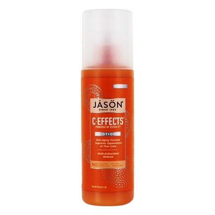 Jason Natural Products - C Effects Pure Natural Lotion - 4 oz.